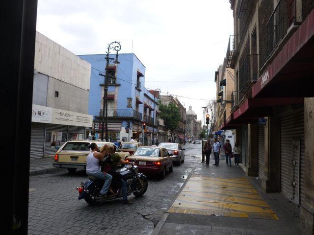 mexican street corner