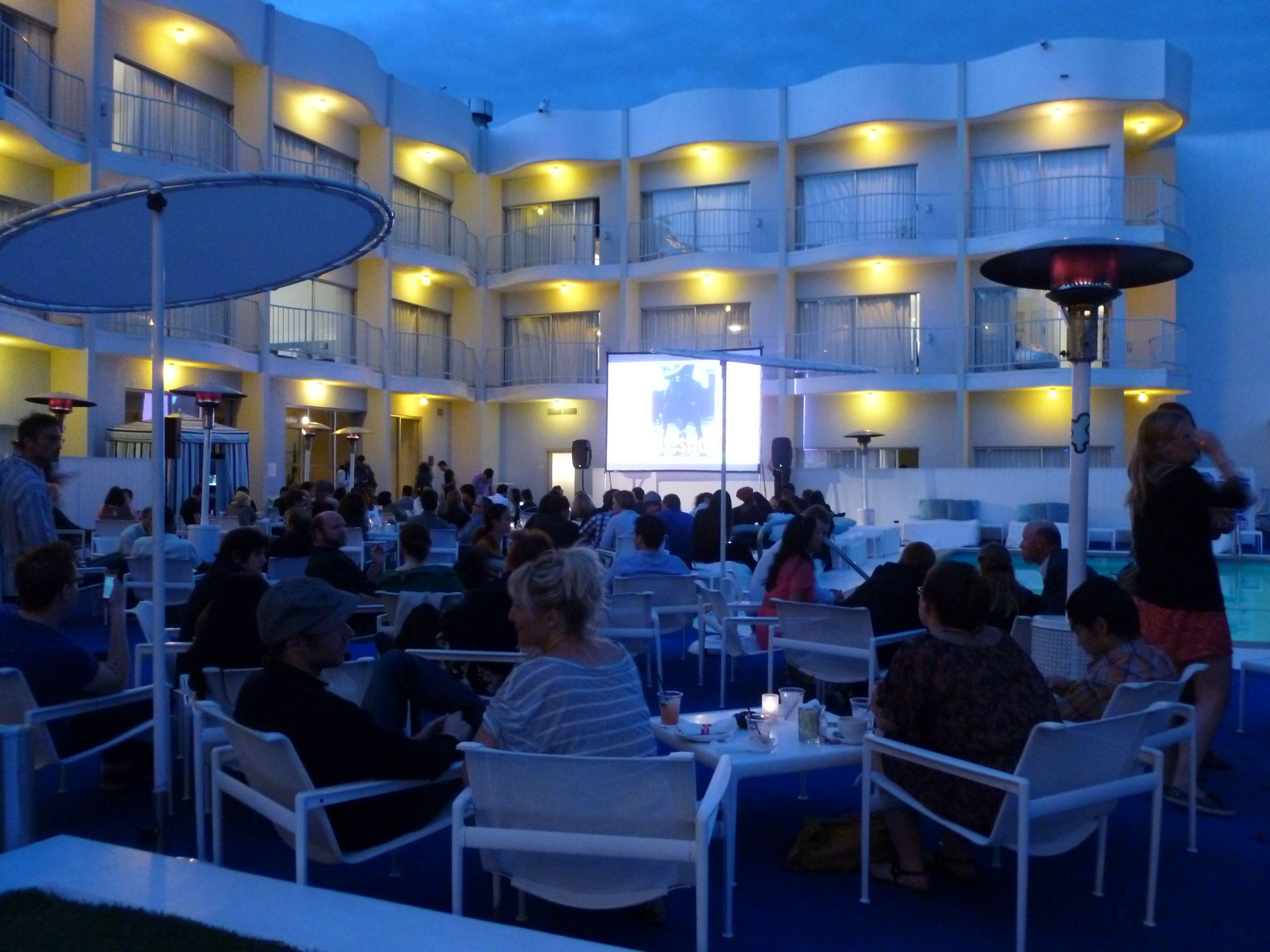 standard west hollywood hotel movie night