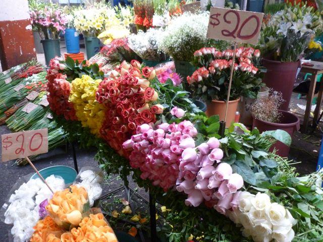 mexican market roses 20 pesos