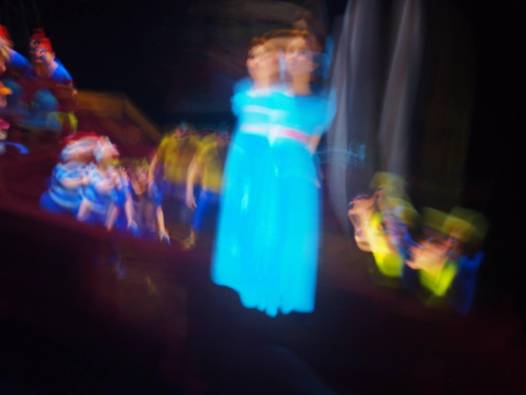 blurry peter pan ride tokyo disneyland
