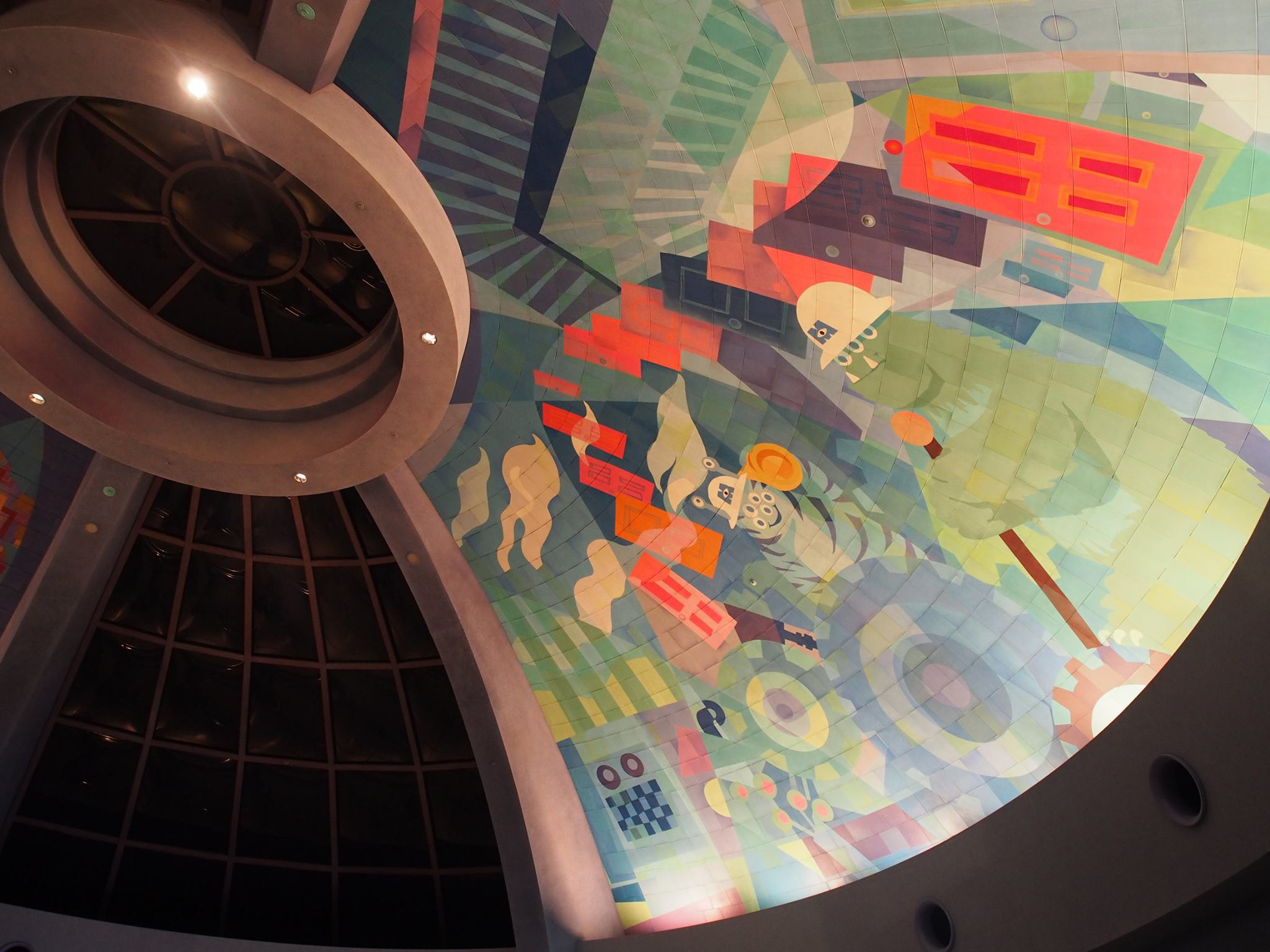 monster inc ceiling