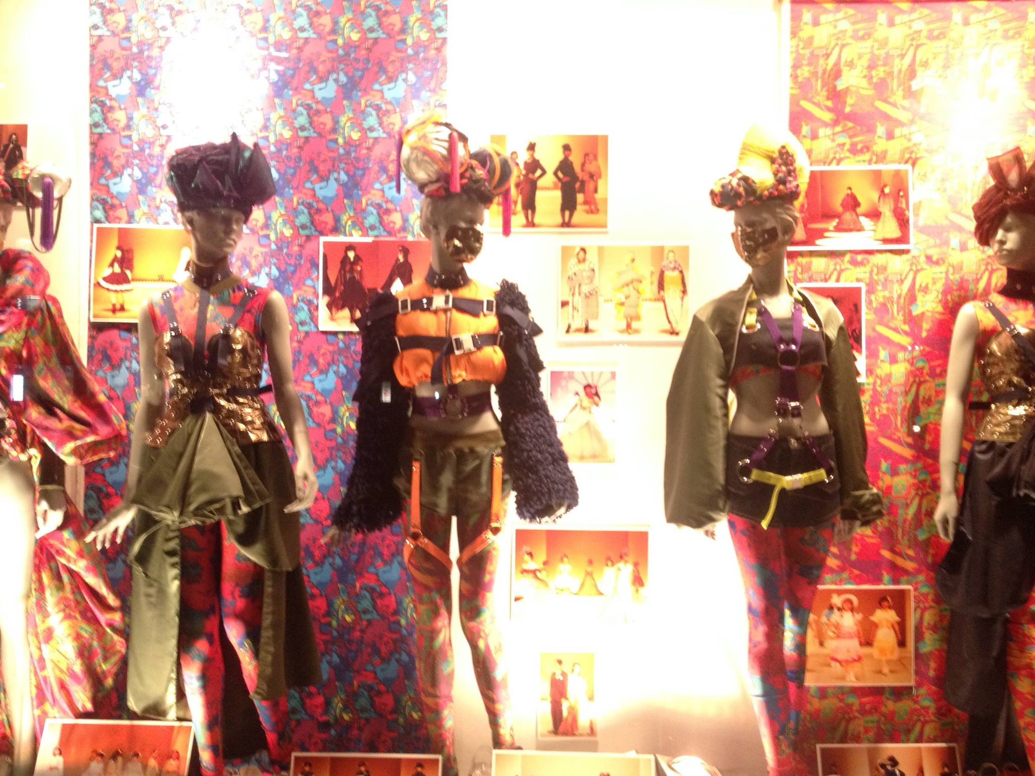 shinjuku fashion college window