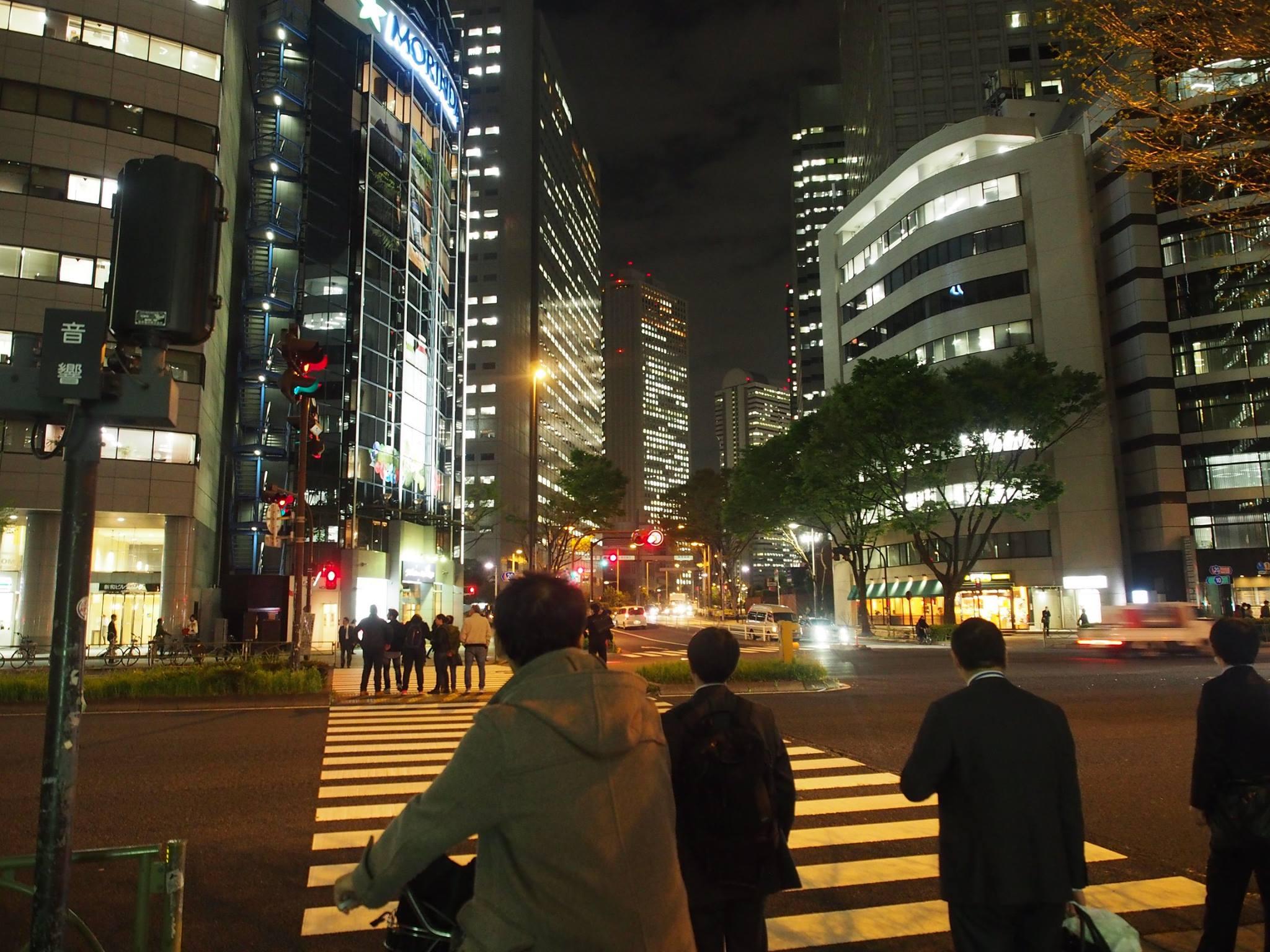 shinuku tokyo stree scene