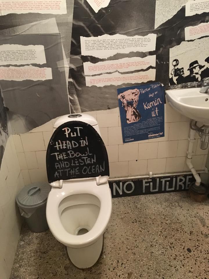 punk toilet reykjavik