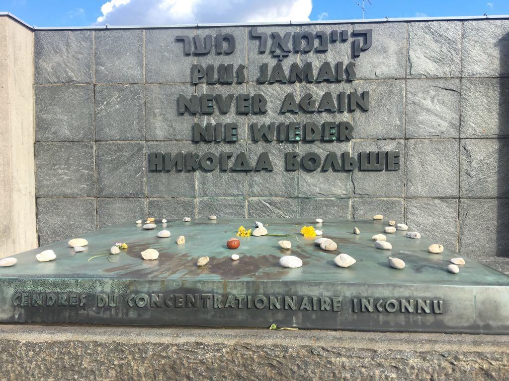 never again dachau holocaust
