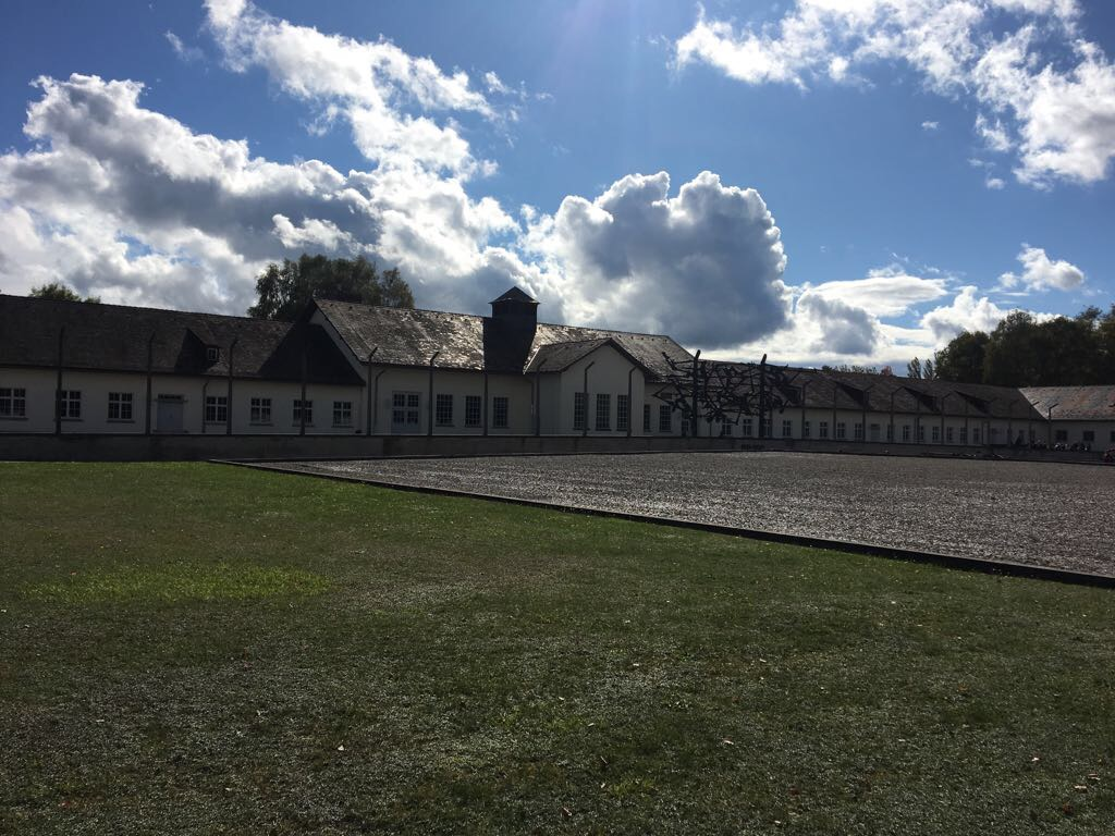 dachau exterior holocaust concentration camp