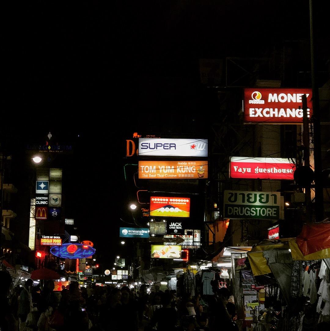khoa san road bangkok thailand